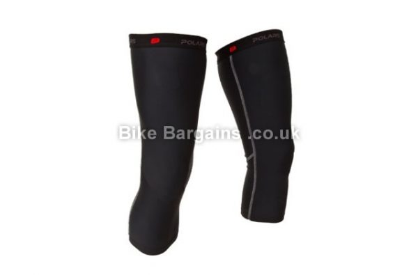 Polaris Venom Black Cycling Knee Warmers L,XL, black