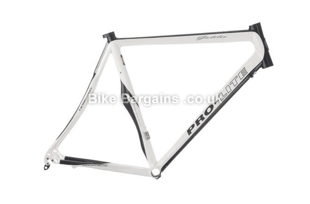Pro-Lite Galileo Handmade Carbon Road Frame 2012 52cm, white, black