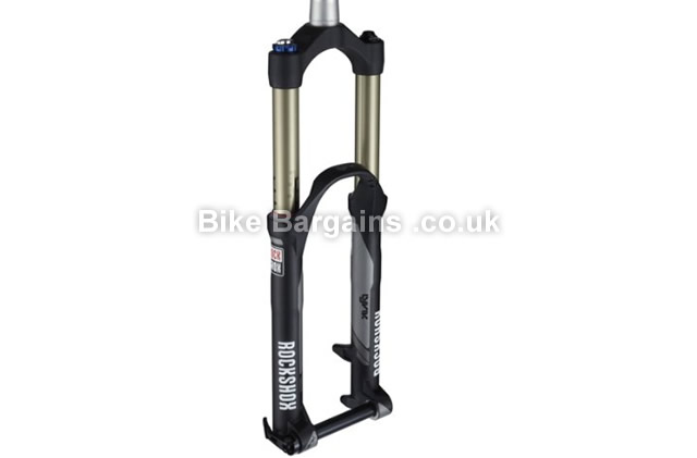 "RockShox Lyrik RC2DH Solo Air 170mm Suspension Forks 26"", 170mm, black"