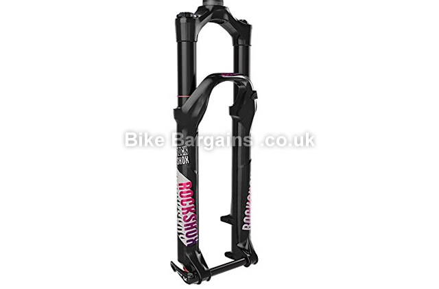 Rockshox Pike DJ Maxle Lite 15 Solo Air 140mm Suspension Fork black, 140mm