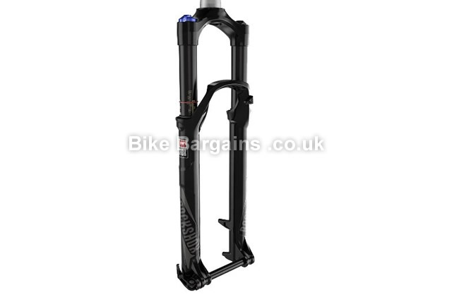 "Rockshox Reba RL Solo Air 100mm QR Tapered Suspension Forks 100mm, 26"", black"