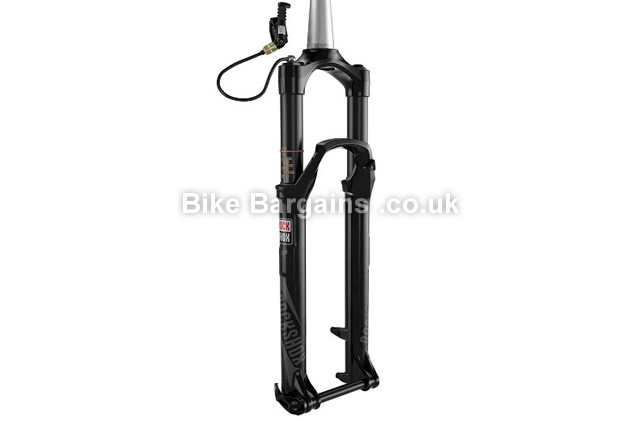 "Rockshox SID XX Solo Air 100 Motion Control Suspension Fork 29"", 100mm, white"