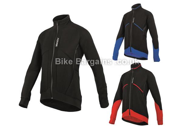 Santini Brigand Windstopper Aerodynamic X-Free 300 Jacket M,L,XL,XXL, black, blue, red