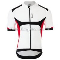 Santini Heat Sink SYS White Road Short Sleeve Jersey