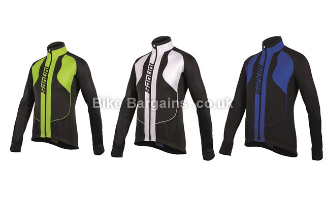 Santini Rebel Zerowind High Performance Warmsant Winter Jacket black, blue, white, S