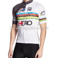 Santini Replica UCI Hero MTB World Cup Short Sleeve Jersey