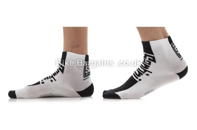 Santini Zest Cotton Summer Standard Profile Sock Black XS,S, black