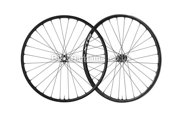 Shimano XTR M9000 29 inch Clincher Black MTB Wheelset front & rear with bag