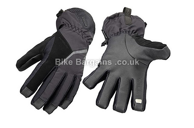 Specialized Radiant Wiretap Waterproof Thinsulate Thermal Gloves 2014 Grey, XS