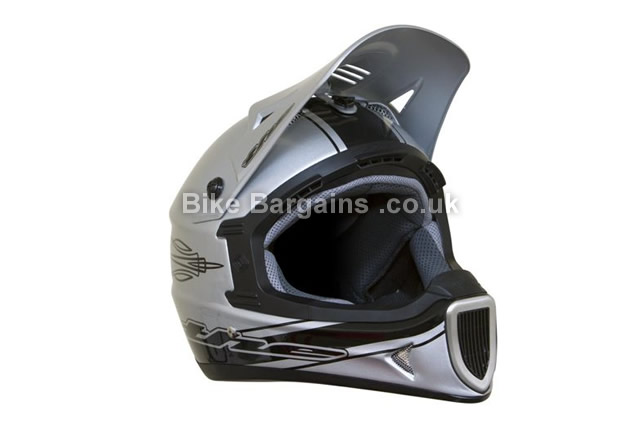THE Thirty3 Composite Lightweight Full Face Helmet Silver 2014 XS, silver