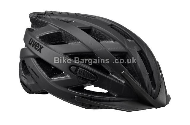 Uvex I-VO Dark Silver Cycling Helmet S,M