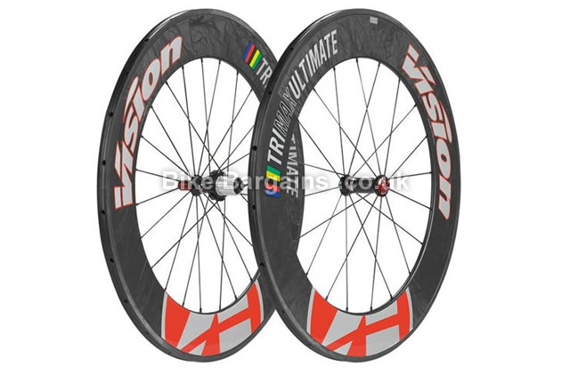 Vision TriMax Black Campag 700c Ultimate Road Wheelset 700c, campag, black