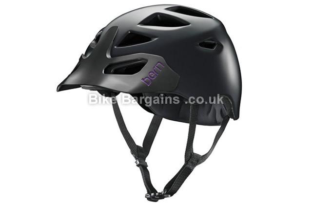 Bern Prescott Zipmold Ladies MTB Helmet 2015 black, XS, S