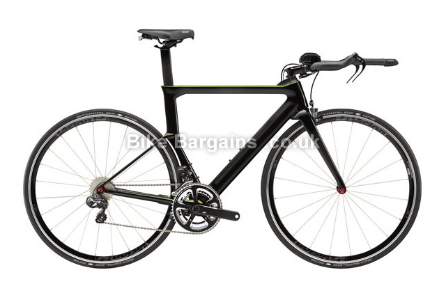 Cannondale Slice Ultegra Di2 Carbon Triathlon Bike 2015 51cm, black