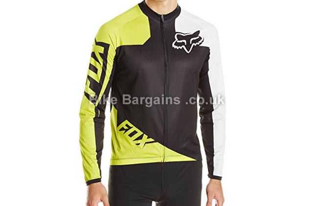 Fox Live Wire Race Long Sleeve Cycling Jersey S