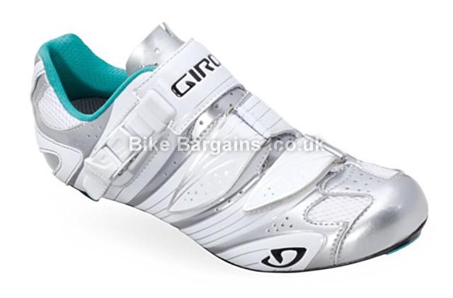 Giro Ladies Factress Road Cycling Shoes white, 37