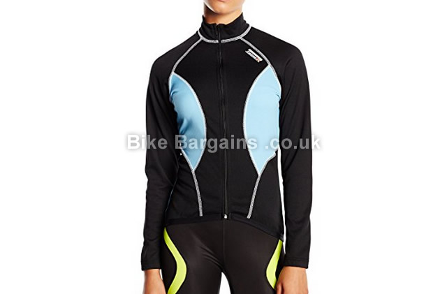 Lusso Ladies Ladyline Breathe2 Long Sleeve Jersey L, black