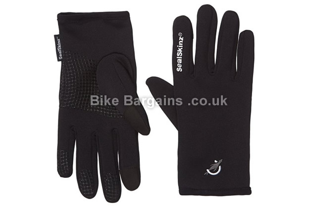 SealSkinz Stretch Fleece Cycling Glove black, XL
