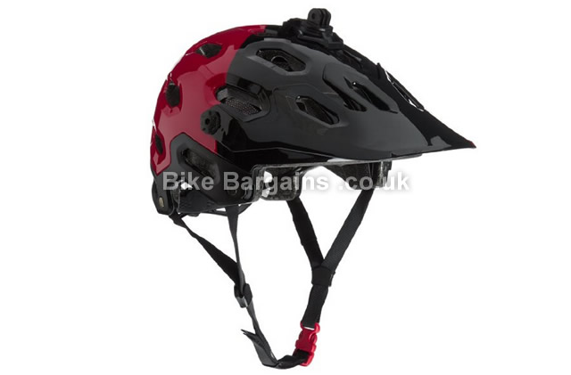 Bell Super 2 Cycling Helmet black & red, black & white,S