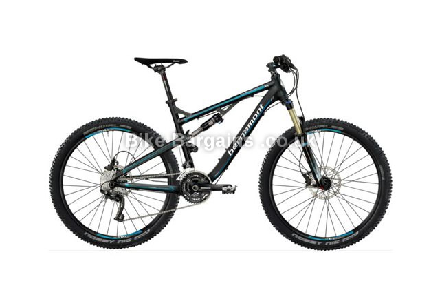"Bergamont Threesome SL 7.3 Full Suspension Mountain Bike 2013 18"", 19"", black"