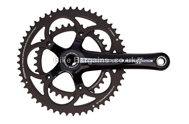 Campagnolo Athena CT 11 speed 170mm Chainset black, 170mm, 11 speed