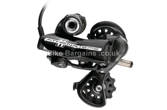Campagnolo EPS Athena 11 Speed Short Cage Road Rear Mech black, 11 speed