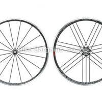 Campagnolo Shamal Ultra Tubular Black Shimano Road Wheel Set