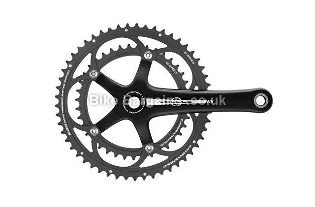 Campagnolo Veloce Power Torque 10-Speed Chainset black, 10 speed, 172.5mm