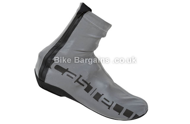 Castelli Reflex Waterproof Windproof Overshoes grey, black,M,L,XL