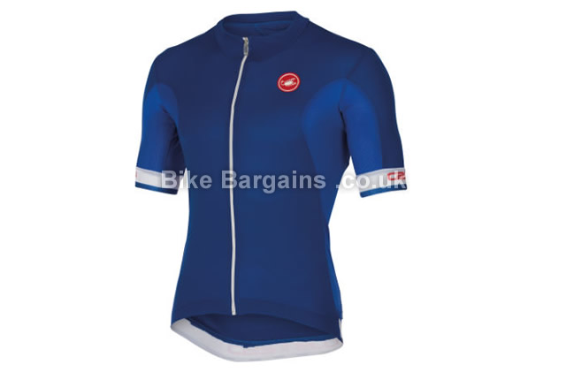 Castelli Volata Short Sleeve Summer Cycling Jersey blue, red, white S,M,L,XL,XXL,XXXL