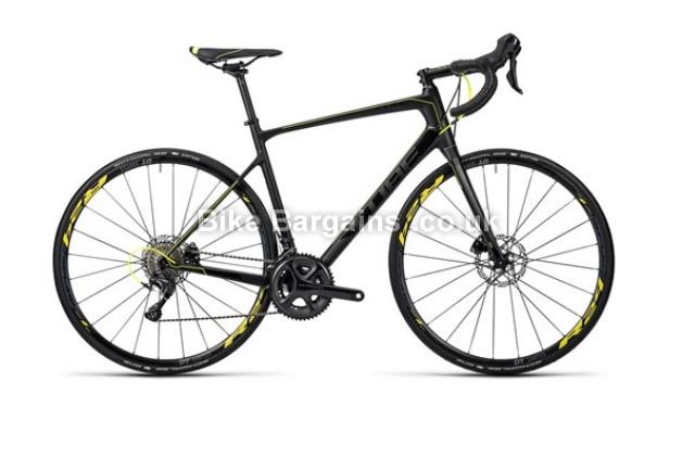 Cube Attain GTC SL Disc Carbon Black Road Bike 2016 58cm