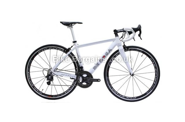 De Rosa King RS Carbon Campagnolo Chorus Road Bike 2014 white, 48cm