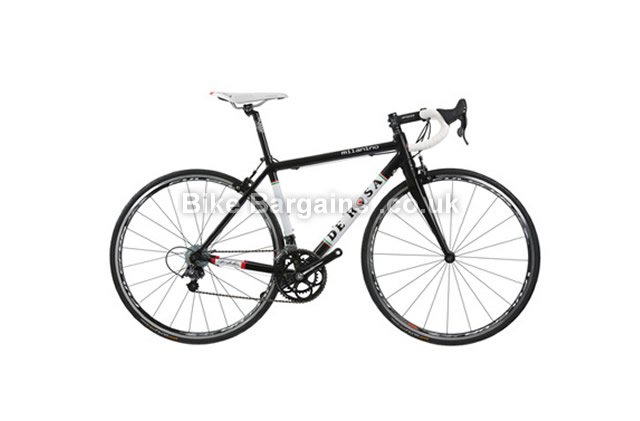 De Rosa Milanino Alloy Road Bike 2014 XL, black