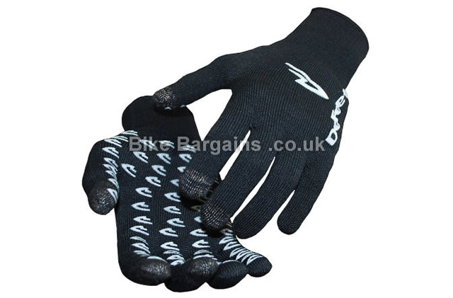 DeFeet E-Touch Dura Cycling Gloves black, blue, red,S,M,L,XL