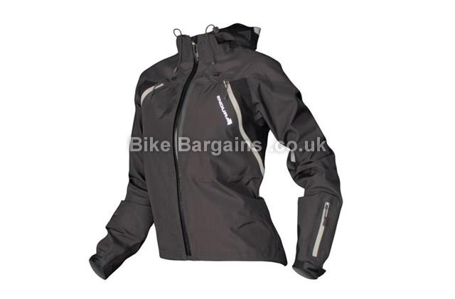 Endura Ladies MT500 Hooded Cycling Jacket 2014 black, S