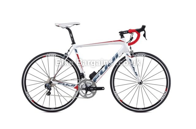 Fuji Altamira 2.1 Carbon Road Bike 2014 58cm, white