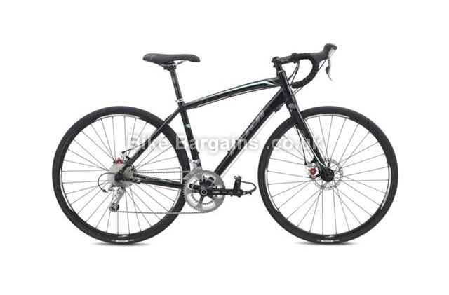 Fuji Finest 1.1 D Ladies Black Alloy Road Bike 2015 44cm, black