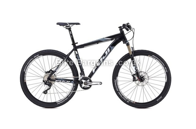 Fuji Tahoe 27.5 inch 1.1 Alloy Hardtail Mountain Bike 2014 53cm, black