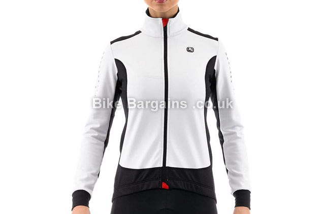 Giordana Donna Ladies Body CloneFR Carbon Cycling Jacket white, XL