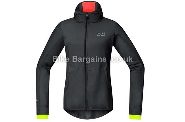 Gore Bike Wear Ladies Element Windstopper Softshell Jacket black, 34