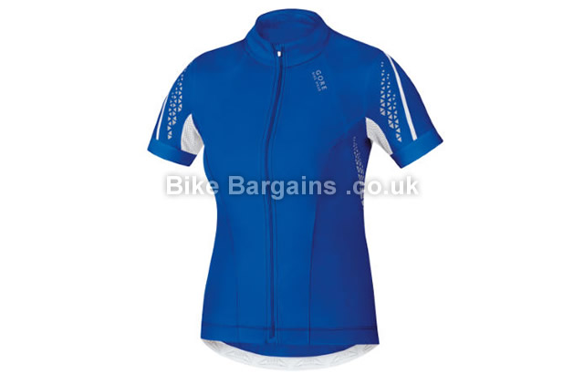 Gore Bike Wear Ladies Xenon 2.0 Short Sleeve Jersey XS,S,M,L, Black, Blue