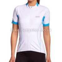 Gore Bike Wear Oxygen Windproof Ladies Soft Shell Short Sleeve Jersey