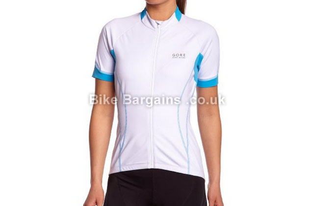 Gore Bike Wear Oxygen Windproof Ladies Soft Shell Jersey white, 16