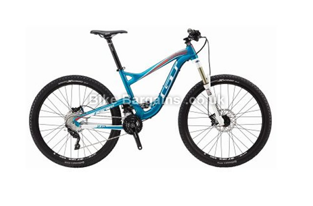 GT Sensor Expert Alloy 27.5 Full Suspension MTB 2015 S, Black