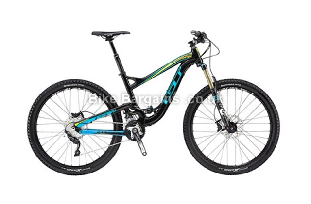 GT Sensor Pro Alloy 27.5 Full Suspension MTB 2015 S, black