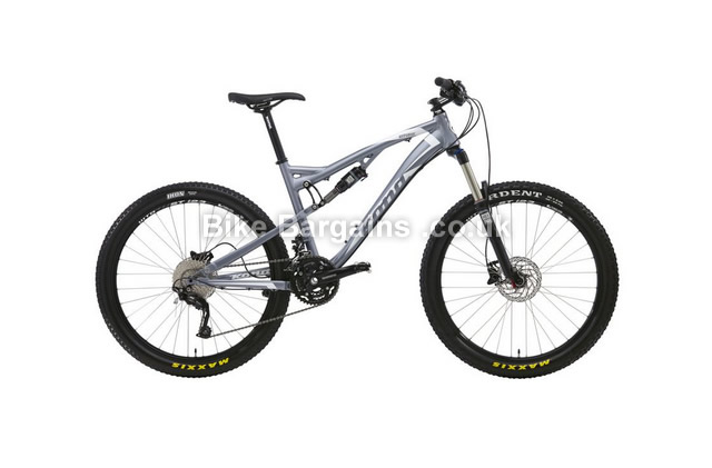 "Kona Kitsune Am Trail Alloy Full Suspension Mountain Bike 2013 17"", 19"", 21"""