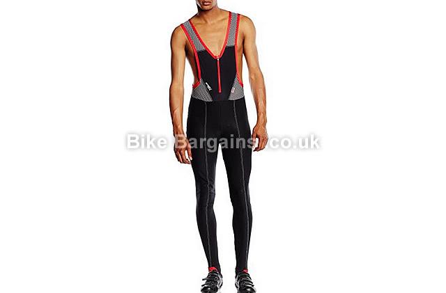 Lusso Men's Windtex Cycling Bib Tights black, L