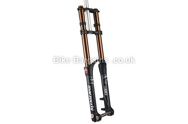 "Marzocchi 380 C2R2 Fork Titanium MTB Downhill Suspension Forks 2015 black, 200mm, 26"", 27.5"""
