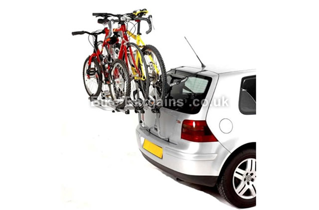Mont Blanc S3 3 Bike Easygrip Rear Mount Cycle Carrier carries 3 bikes