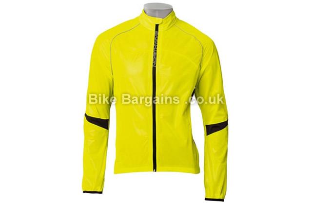 Northwave Aqua Pro Yellow Rainshield Cycling Jacket S, Yellow